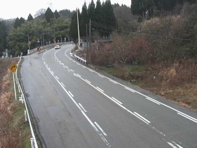 国道359号内山ライブカメラ(富山県小矢部市内山)