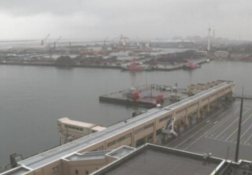 JCV佐渡汽船ターミナルビルライブカメラ(新潟県上越市港町)