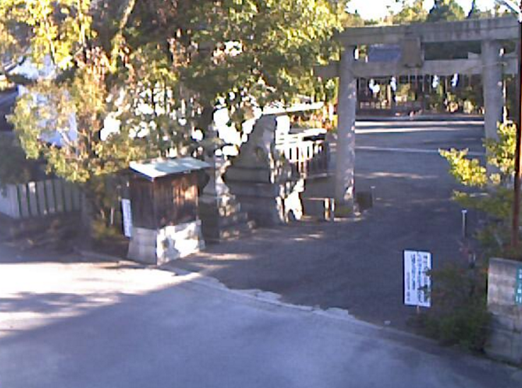 大森神社ライブカメラ(大阪府熊取町大宮)