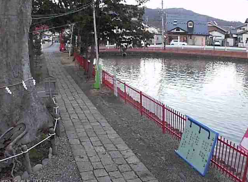 UCV生島足島神社東門第2ライブカメラ(長野県上田市下之郷)