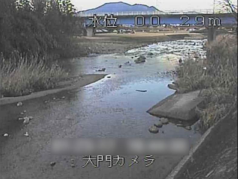 阿木川大門ライブカメラ(岐阜県恵那市東野)