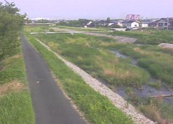 佐陀川下流河岡ライブカメラ(鳥取県米子市河岡)