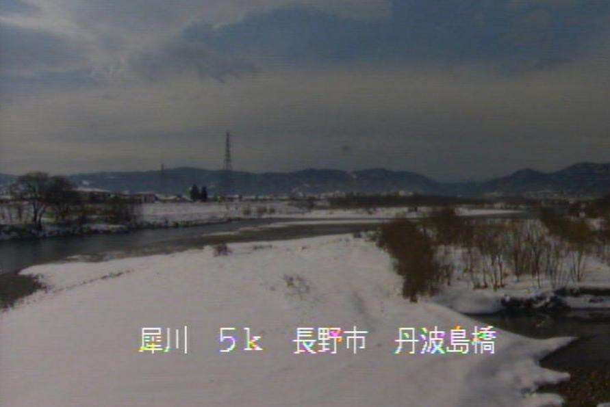 犀川丹波島橋ライブカメラ(長野県長野市青木島町)