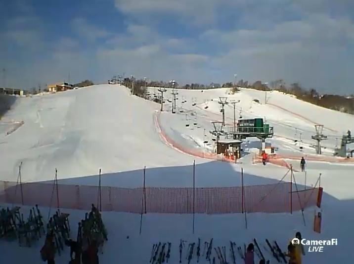 こまどりスキー場ライブカメラ(北海道稚内市こまどり)