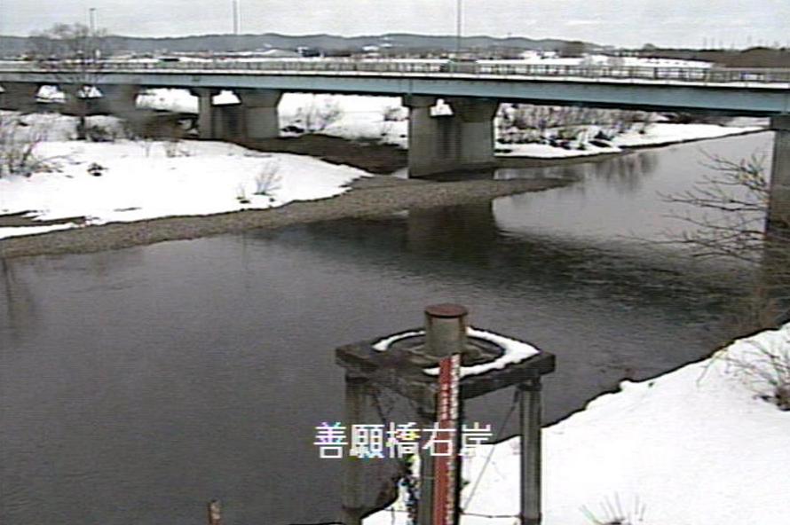 早出川善願橋ライブカメラ(新潟県五泉市赤海)