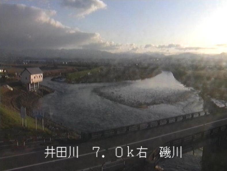 井田川磯川ライブカメラ(富山県富山市婦中町)