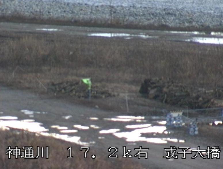 神通川成子大橋ライブカメラ(富山県富山市押上)