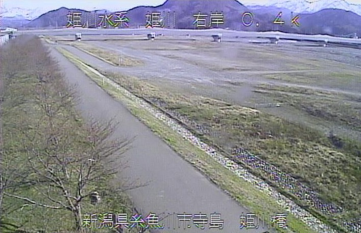 姫川寺島ライブカメラ(新潟県糸魚川市寺島)
