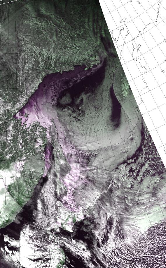 北見工業大学オホーツク海流氷画像ライブカメラ(北海道北見市公園町)