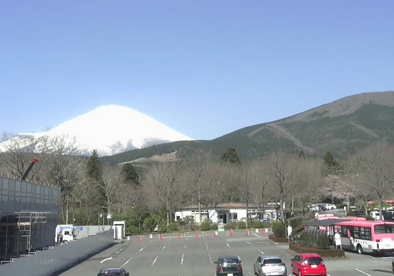 富士霊園富士山ライブカメラ(静岡県小山町大御神)