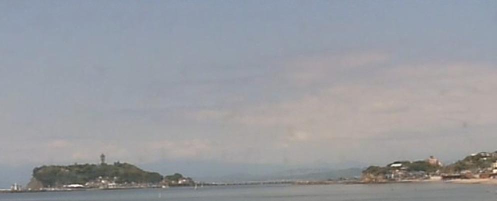 鎌倉七里ケ浜ライブカメラ(神奈川県鎌倉市七里ガ浜東)