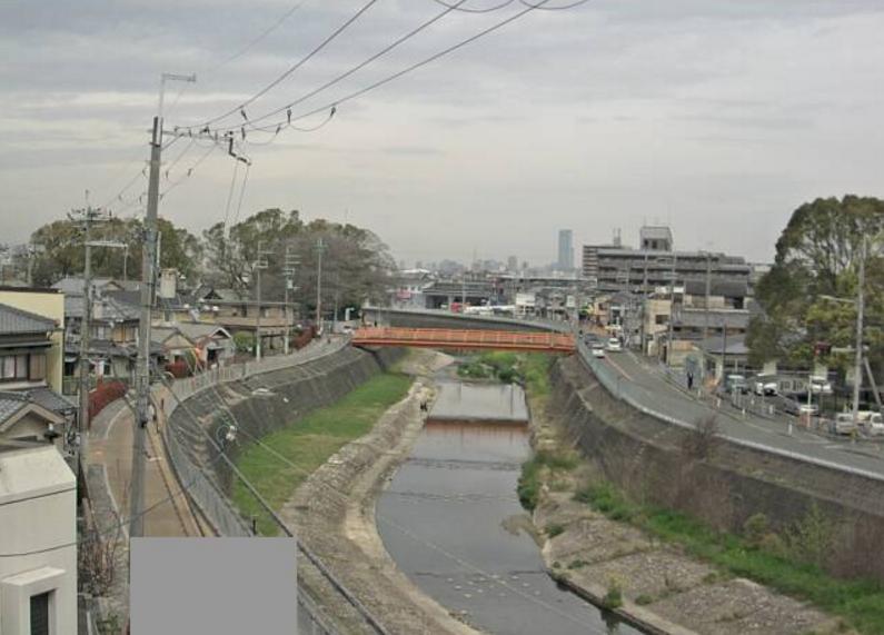 西除川宮橋ライブカメラ(大阪府松原市北新町)