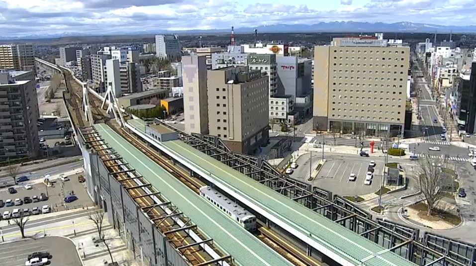 JR帯広駅ライブカメラ(北海道帯広市西2条南13丁目)