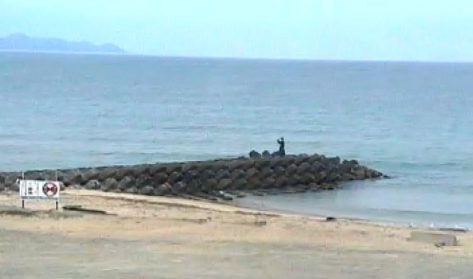 iinami釣川北斗の水汲み海浜公園ライブカメラ(福岡県宗像市神湊)