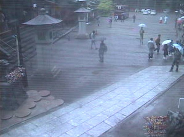 日光二荒山神社境内第4ライブカメラ(栃木県日光市山内)