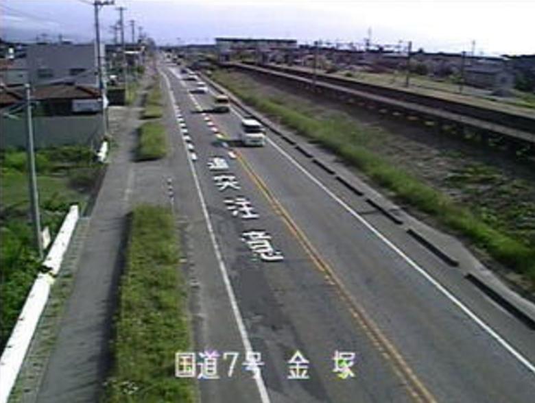 国道7号下小中山ライブカメラ(新潟県新発田市下小中山)