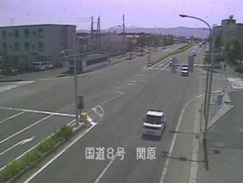 国道8号関原ライブカメラ(新潟県長岡市関原町)
