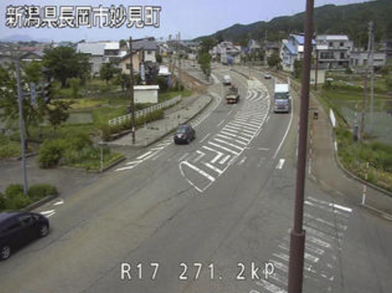 国道17号妙見ライブカメラ(新潟県長岡市妙見町)