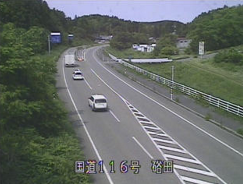 国道116号硲田ライブカメラ(新潟県長岡市寺泊)