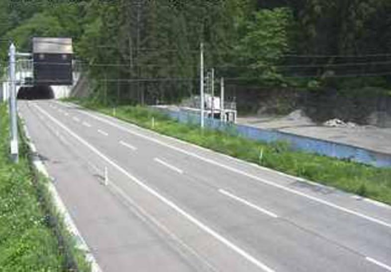 国道117号芦ヶ崎ライブカメラ(新潟県津南町芦ヶ崎)