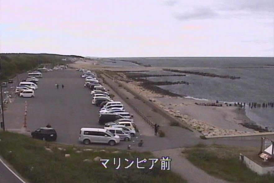 マリンピア日本海ライブカメラ(新潟県新潟市中央区)