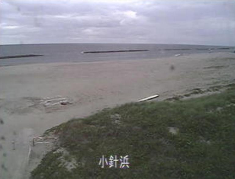 小針浜海水浴場ライブカメラ(新潟県新潟市西区)
