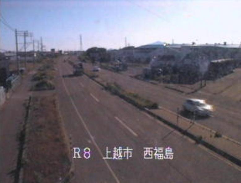 国道8号西福島ライブカメラ(新潟県上越市頸城区)
