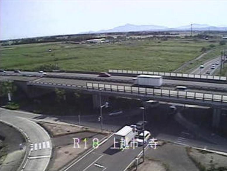 国道18号寺ライブカメラ(新潟県上越市寺)