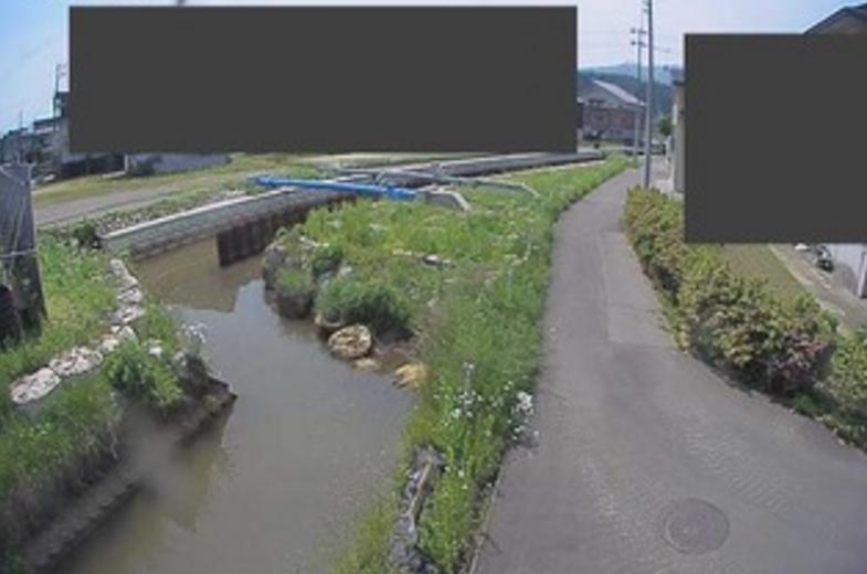 十二沢川緑町ライブカメラ(新潟県南魚沼市六日町)