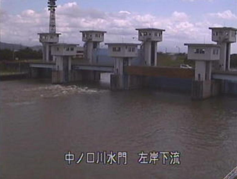 中ノ口川水門ライブカメラ(新潟県燕市道金)