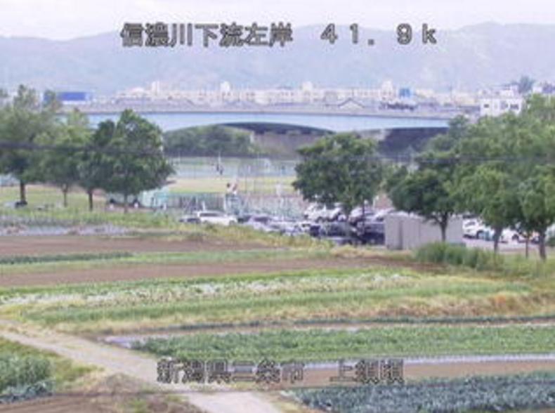 信濃川上須頃ライブカメラ(新潟県三条市上須頃)