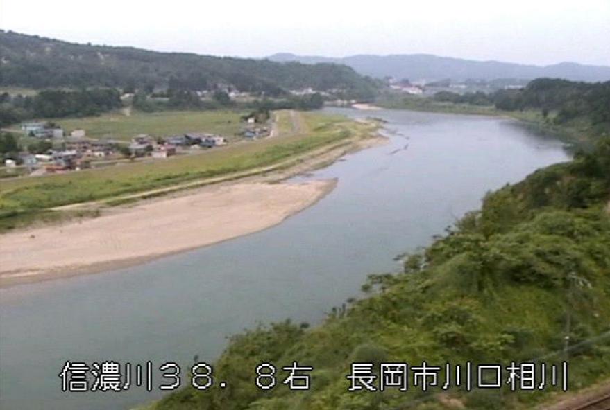 信濃川上片貝ライブカメラ(新潟県長岡市川口)