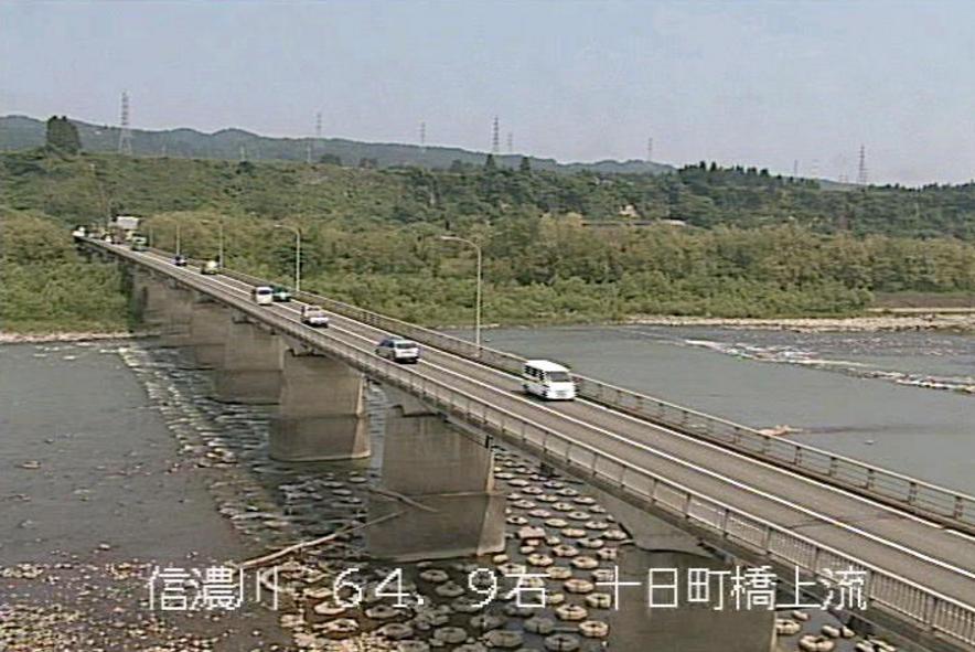 信濃川十日町橋ライブカメラ(新潟県十日町市子)