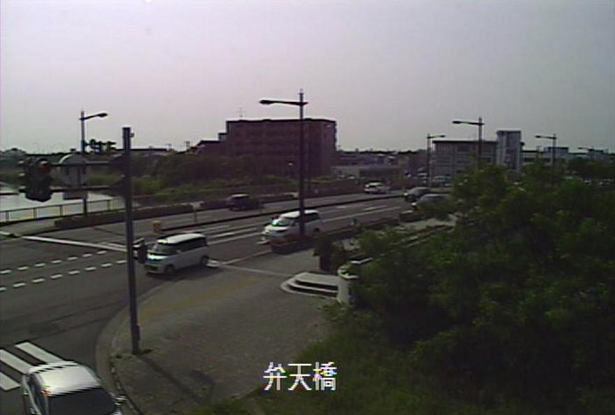 鳥屋野潟弁天橋ライブカメラ(新潟県新潟市中央区)