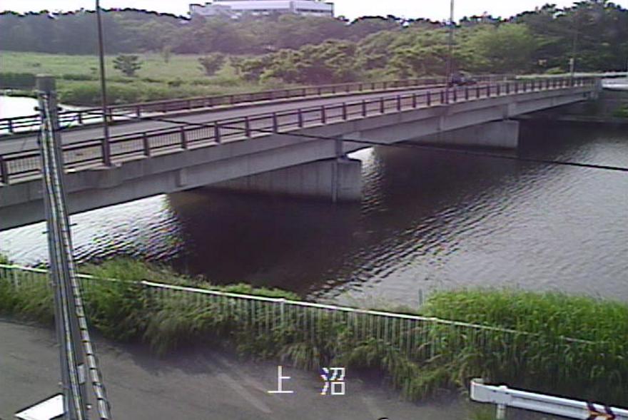 親松導水路上沼ライブカメラ(新潟県新潟市中央区)