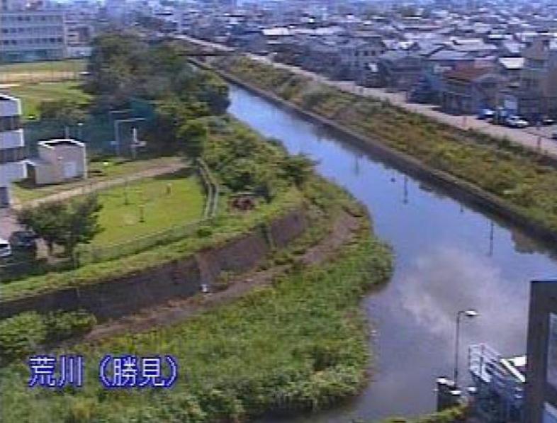 荒川勝見ライブカメラ(福井県福井市勝見)