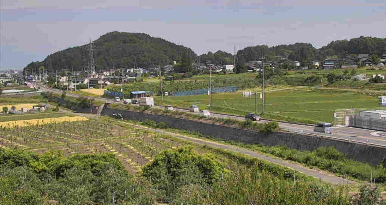 テレビ松本峰原ライブカメラ(長野県塩尻市峰原)