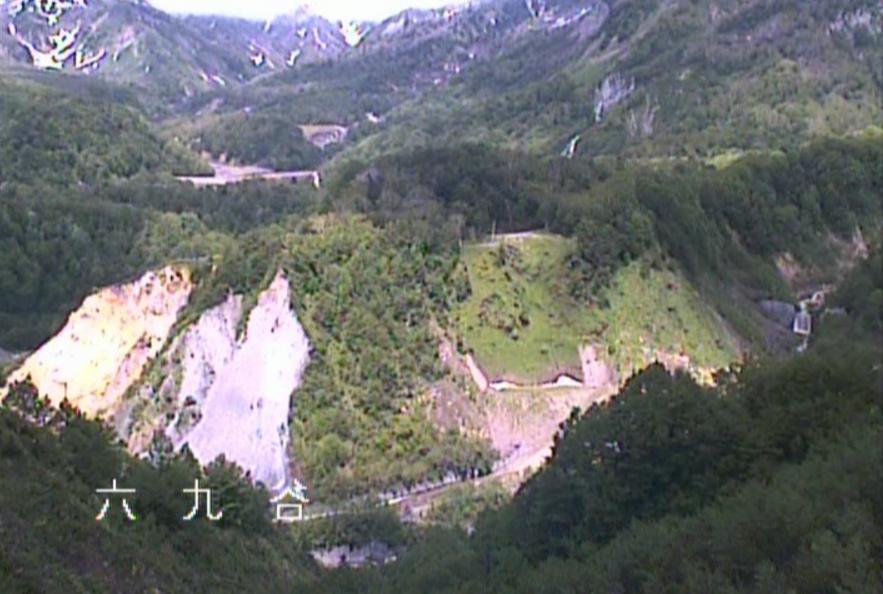 六九谷ライブカメラ(富山県立山町芦峅寺)