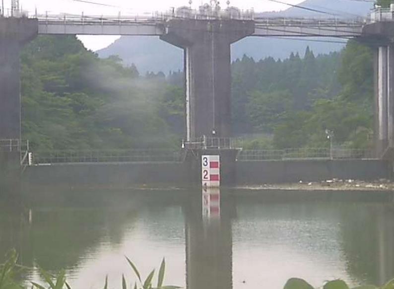 黒川ダム堰上流ライブカメラ(熊本県阿蘇市車帰)