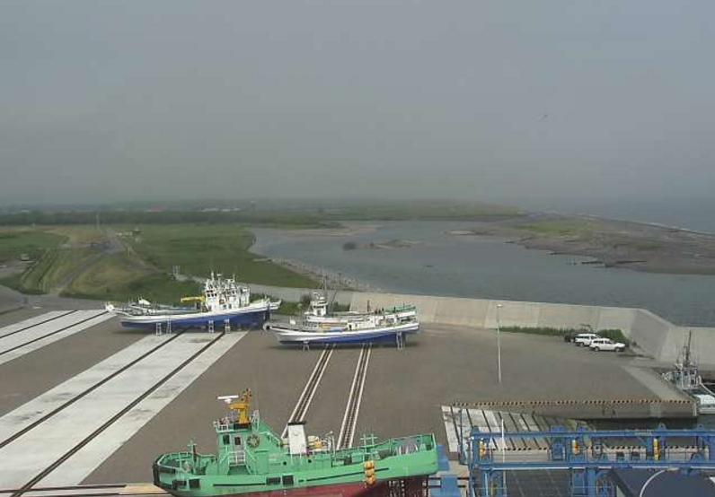 湧別漁港製氷施設ライブカメラ(北海道湧別町港町)