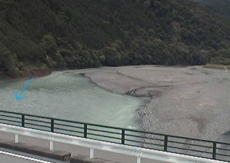 大井川淙徳橋ライブカメラ(静岡県川根本町徳山)