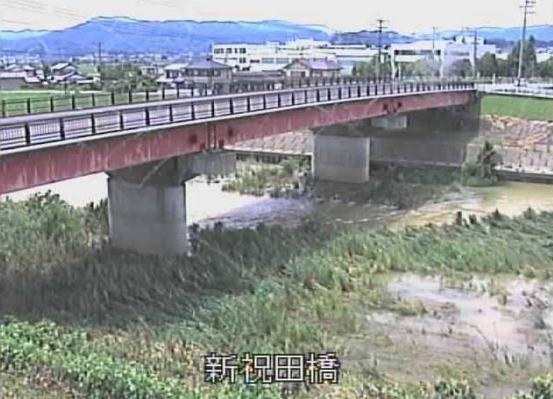 都田川新祝田橋ライブカメラ(静岡県浜松市北区)