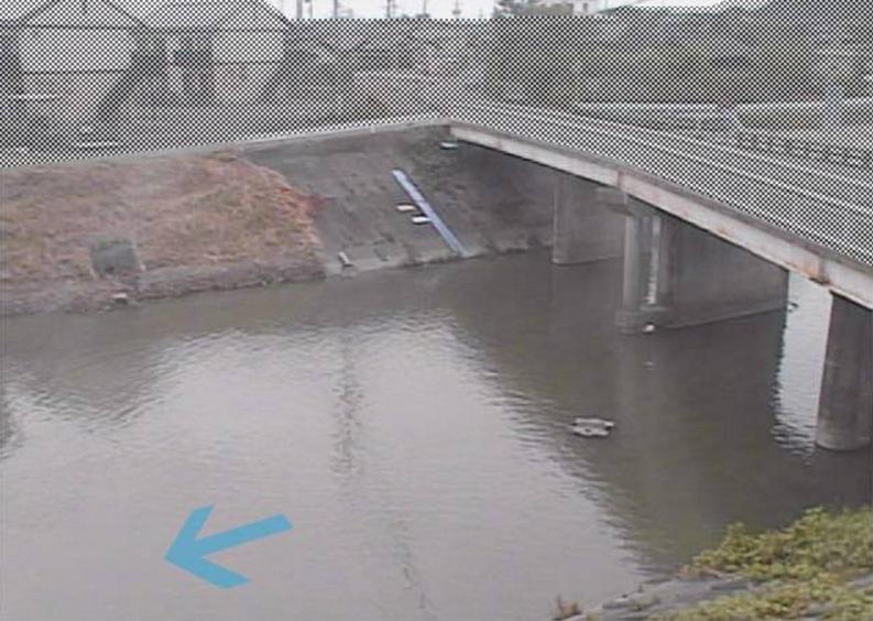 新野川雨垂橋ライブカメラ(静岡県御前崎市佐倉)