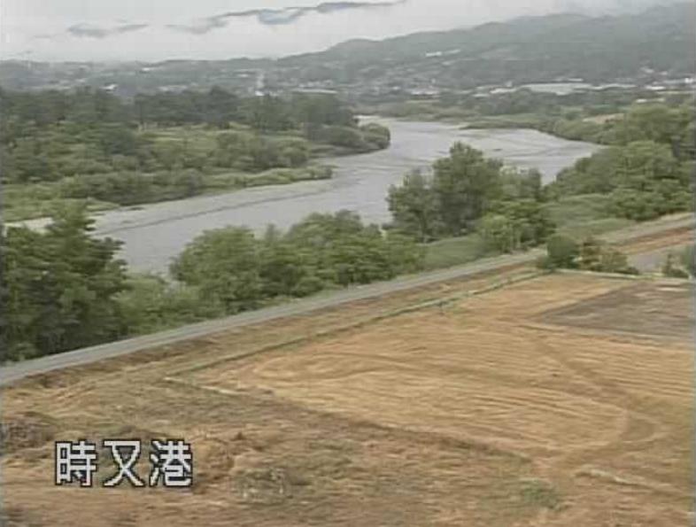 天竜川時又港ライブカメラ(長野県飯田市時又)