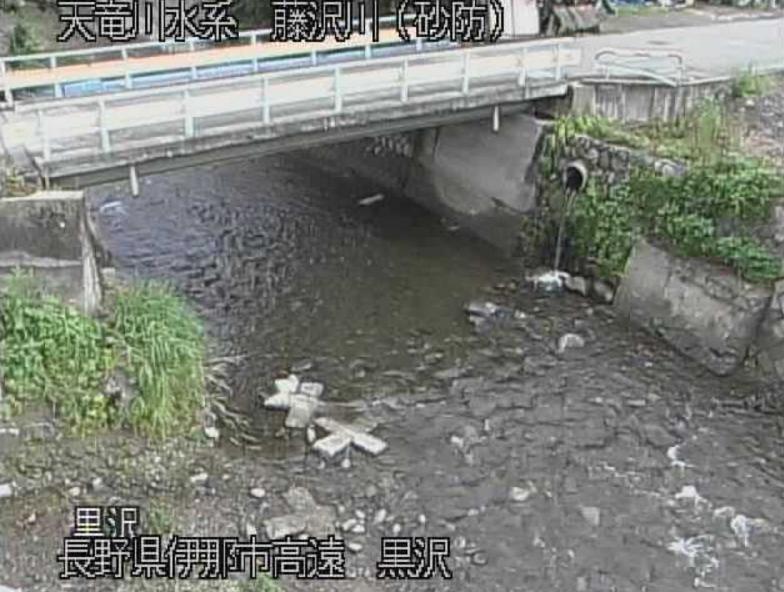 藤沢川黒沢ライブカメラ(長野県伊那市高遠町)