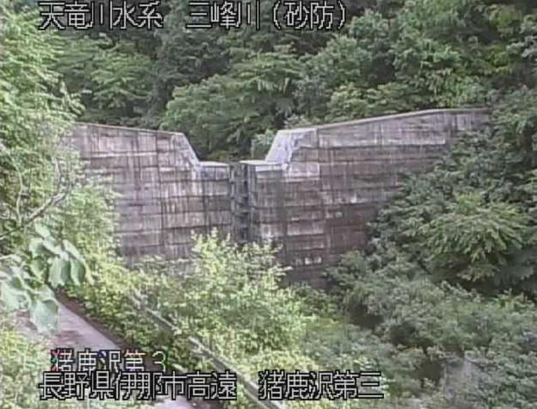 三峰川猪鹿沢第3ライブカメラ(長野県伊那市高遠町)
