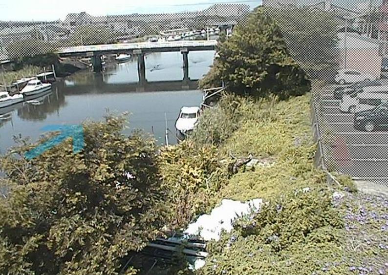沼川河合橋ライブカメラ(静岡県富士市鈴川)
