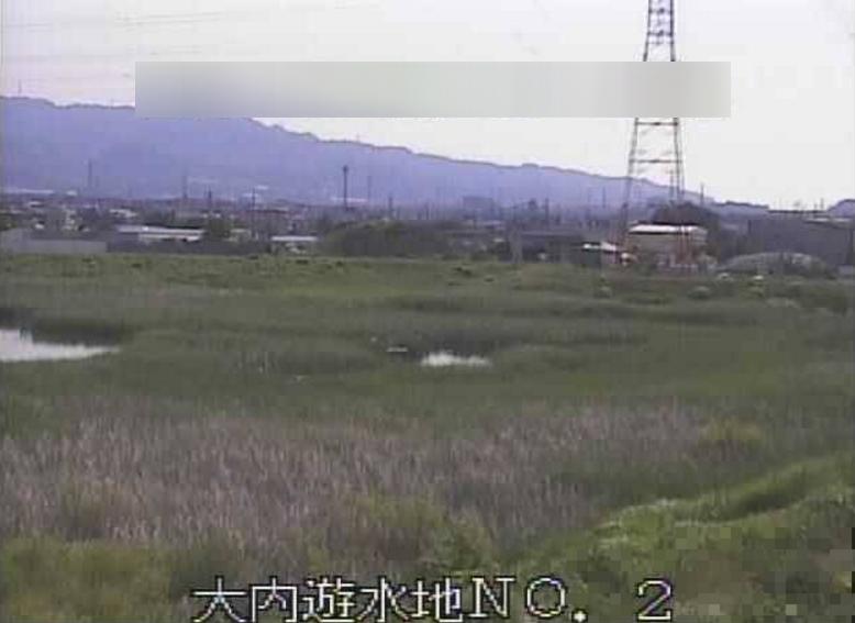 巴川大内遊水地第2ライブカメラ(静岡県静岡市清水区)