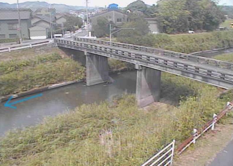 萩間川東中橋ライブカメラ(静岡県牧之原市大江)