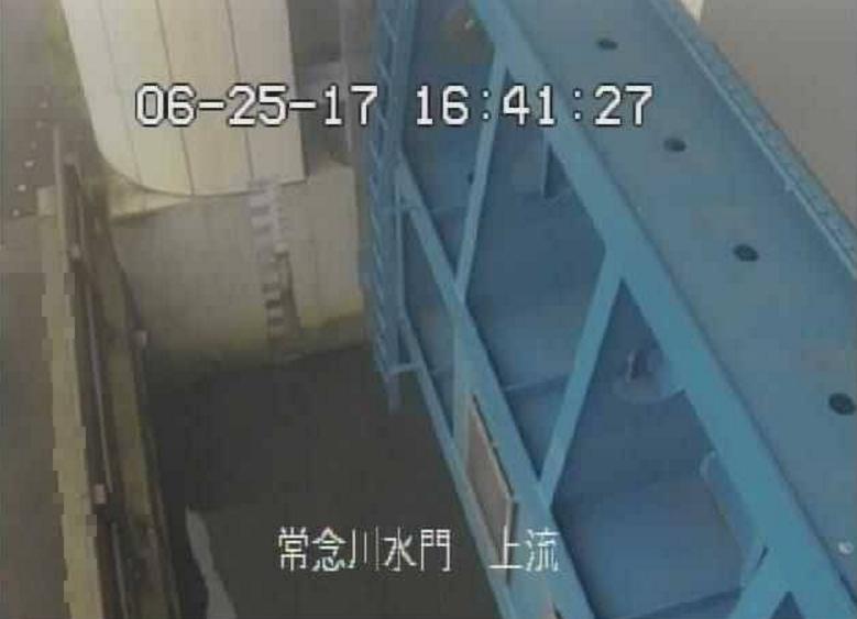 常念川常念川水門上流ライブカメラ(静岡県静岡市清水区)